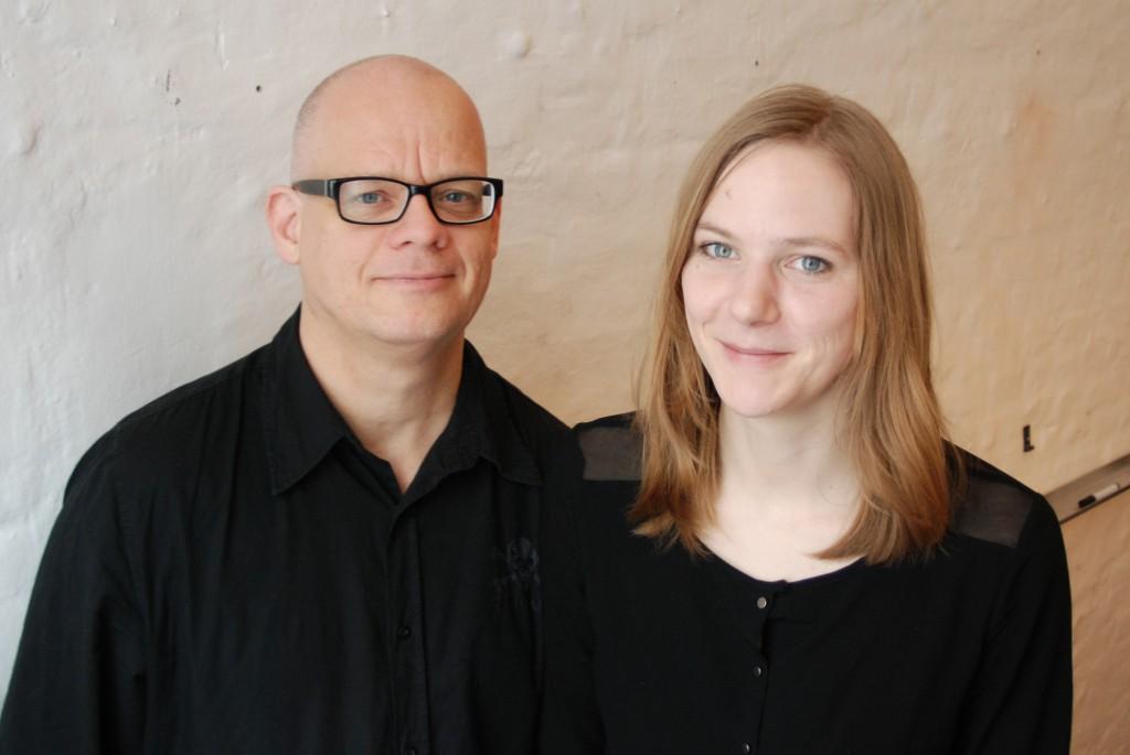 Michael Kellenbenz und Helen Schepers [Gründer FahrradGarderobe]