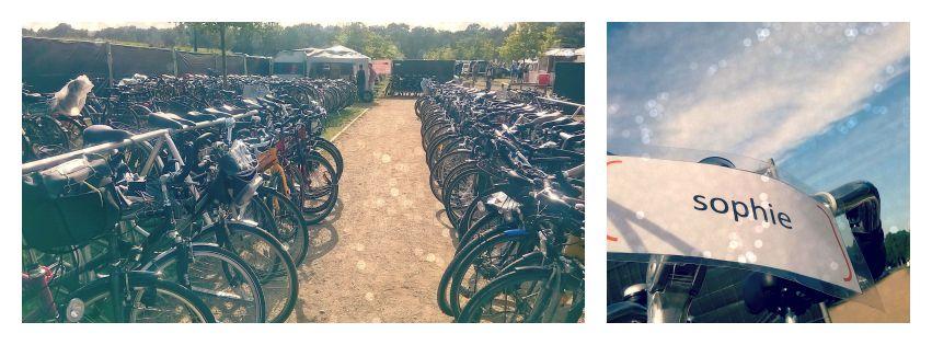 FahrradGarderobe beim A Summers Tale Festival